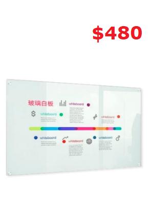 Galss white board