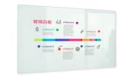 AutoMax 鋼化磁性玻璃白板 60x90cm 掛牆式
