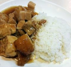 豆腐火腩飯
