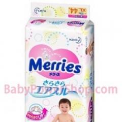 日本花王Merries嬰兒紙尿片 XL44片裝 (加大碼) (12~20kg)