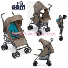 意大利CAM Flip 嬰兒手推車(啡色)