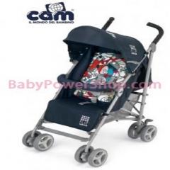 意大利CAM Flip 嬰兒手推車(藍色圖案)