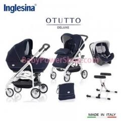意大利Inglesina Otutto Deluxe 超豪華五件式手推車 (寶藍)