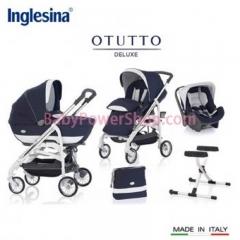 意大利Inglesina Otutto Deluxe 超豪華五件式手推車 (深藍)