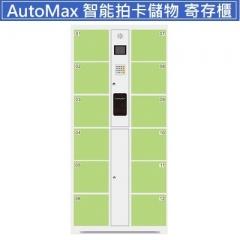 AutoMax 智能拍卡儲物櫃 寄存櫃 12門淺綠色