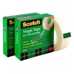 Tape 膠紙 隱形 3M 810 3/4 吋 12卷
