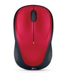 Mouse 滑鼠 無線 Logitech M235 紅色