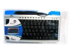 Keyboard 有線鍵盤 Voltech FC-780 銀色