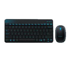 Logitech 鍵盤滑鼠套裝 無線 MK240