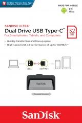 USB 手指 32GB SanDisk Type C
