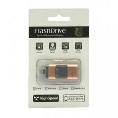 USB 手指 64GB iPhone OTG 金色