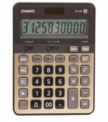 Casio DS-1B 計數機 (10位) 金色