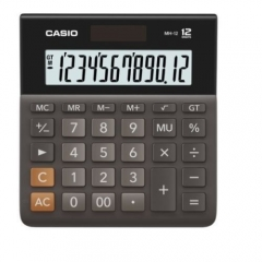 Casio MH-12 計數機 (12位) 黑色