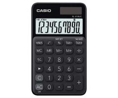 CASIO SL-310UC 攜帶式計數機 馬卡龍色計算機 (10位) 黑色