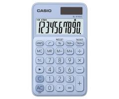 CASIO SL-310UC 攜帶式計數機 馬卡龍色計算機 (10位) 淺藍