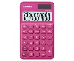 CASIO SL-310UC 攜帶式計數機 馬卡龍色計算機 (10位) 桃紅