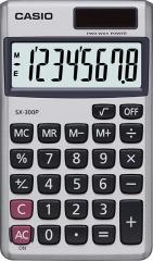 CASIO SX-300P 攜帶式計數機 計算機 (8位)