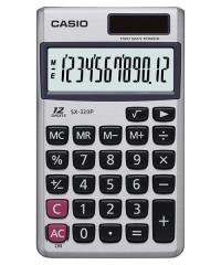 CASIO SX-320P 攜帶式計數機 計算機 (12位)