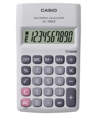 CASIO HL-100LB 攜帶式計數機 計算機 (10位)