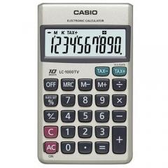 CASIO LC-1000TV 攜帶式計數機 計算機 (10位)