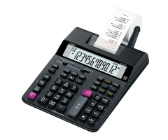 CASIO HR-150RC  紅黑雙色列印 出紙計數機 計算機 (12位)