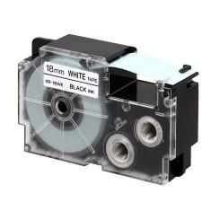 CASIO XR-6GC(6mm) Tape 高黏性標籤帶 白底黑字 XR-6GCWE