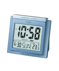 Casio Clock DQ-750F 電子掛鐘 鬧鐘 藍色DQ-750F-2