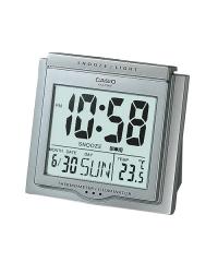 Casio Clock DQ-750F 電子掛鐘 鬧鐘 銀色DQ-750F-8