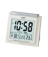 Casio Clock DQ-750F 電子掛鐘 鬧鐘 白色DQ-750F-7