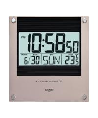 Casio Clock ID-11S 溫度計 電子掛鐘 金色 ID-11S-2