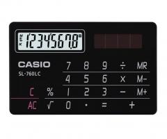 CASIO SL-760LC 攜帶式計數機 計算機 (8位) 黑色