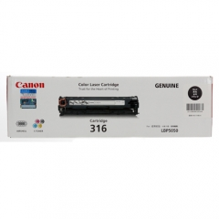 Canon Cartridge-316B (原裝) Laser Toner - Black For