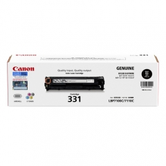Canon CRG-331B (原裝) Laser Toner (1.4K) - Black LBP