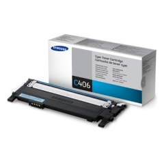 Samsung 406 原裝碳粉 CLT-C406S 藍色 1K
