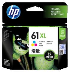 HP (61) 原裝墨盒 CH564WA (61XL) 彩色高容量
