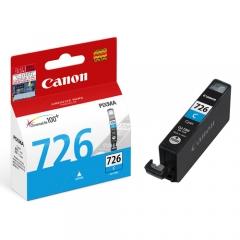 Canon (725) (726) 原裝墨盒 CLI-726C 藍色