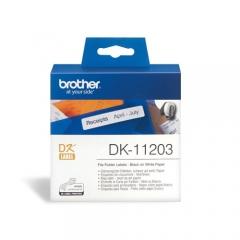 Brother DK系列標籤帶 DK11203