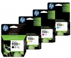 HP (920) 原裝墨盒 920XL 4色套裝高容量