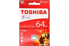 Toshiba 64.0GB (Class 10) (UHS-1) Micro SDXC Card
