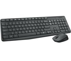 Logitech MK235無線Keyboard+Mouse套裝