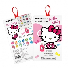 PhotoFast iOS Card Reader CR-8800 Hello Kitty 粉紅色