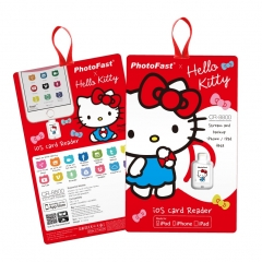 PhotoFast iOS Card Reader CR-8800 Hello Kitty 白色