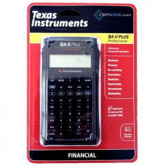 Texas Instruments BA II Plus Finacial Professional