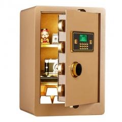 FAX88  防盜安全夾萬/保險箱 FX386033 土豪金