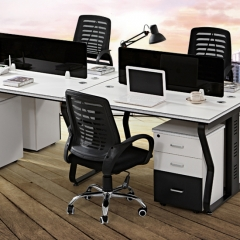 Blue Star EW803 新潮辦公桌/辦公椅/推櫃組合 單人位(不含櫃)