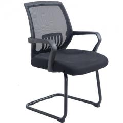 Blue Star EW02 辦公椅/會議用椅/電腦椅 弓形黑色