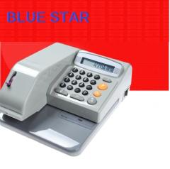 Blue Star BS50A 電動支票機(16種貨幣)