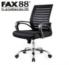 FAX88 辦公網椅 轉椅黑框背