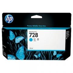 HP 728 原裝墨盒 F9J67A 130-ml Cyan