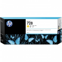 HP 728 原裝墨盒 F9K15A 300ml Yellow
